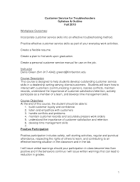 Resume Objective For Customer Service Berathen Com