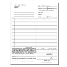 Extra Work Order Template Work Order Form Template Atlasapp Co