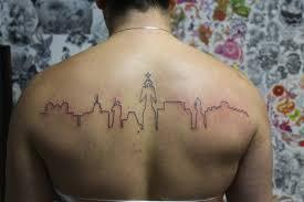 житель ставрополя сделал татуировку посвящённую родному городу