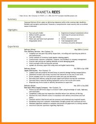 Delivery Driver Resume 100 Delivery Driver Resume Sample Enclosu Resample 25