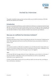 Reply To Interview Invitation Email Sample 12 How To Reply To A Job Interview Email Resume Letter