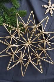 Diy Weihnachtsstern Aus Trinkhalmen Christmas