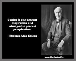 Famous Quotes By Edison Thomas Edison Success Quote Famous Thomas Edison Quotes Hard Work 8