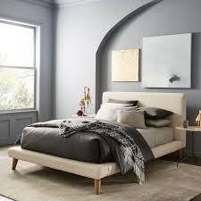 Mod Upholstered Platform Bed | west elm