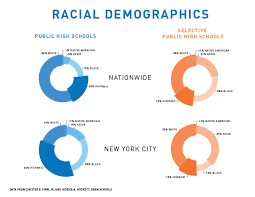 new york city graphic the demographics of public and selective high s excerpt