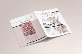 brochure brochure a4 brochure mockup bundle mockupworld
