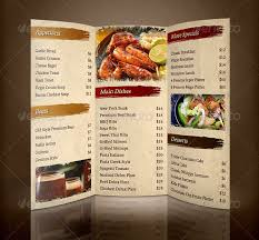 Restarunt Brochure Custom 48 Restaurant Brochure Templates Free PSD EPS AI InDesign