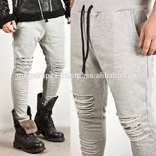Distressed Sweatpants - Fashion Custom Made Jogger Pants Printing ... & Distressed Sweatpants - Fashion Custom Made Jogger Pants printing Camo  Quilted faux leather Pants Men Pants Adamdwight.com