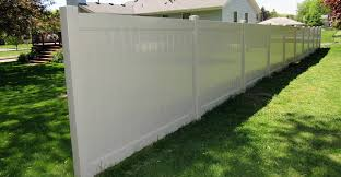 Image Fence Panels Tan Vinyl Privacy Fence Economy Fence Vinyl Fencing Privacy Fence Pool Fencing Fence Company Mn