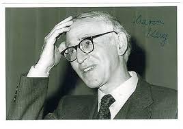 Sir Aaron KLUG Winner of 1982 Nobel Prize in Chemistry Nice genuine signed  photo   #476678360