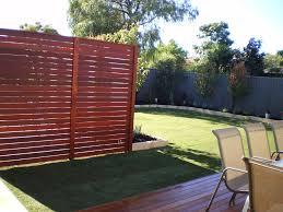 Privacy screen backyard