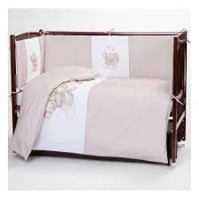 Комплект в <b>кроватку Lappetti Little mouse</b> 6 предметов, кофейный ...