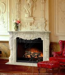 bourguignon marble fireplace surround