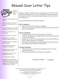 Sample Resume Cover Letters | Musmus.me