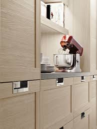 Modular Kitchen Handle Design Modular Kitchen With Integrated Handles Lux Classic By