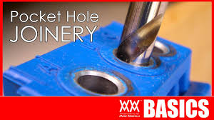 Beginner's guide to <b>pocket hole joinery</b> | <b>WOODWORKING</b> BASICS ...