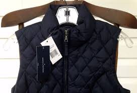 NWT Tommy Hilfiger Quilted Puffer Down Feather Vest BLACK Casual ... & ☀NWT Tommy Hilfiger Quilted Puffer Down Feather Vest BLACK Casual Golf  Womens XS Adamdwight.com