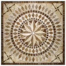 Decorative Floor Tile Medallions