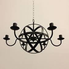 the greatford collection 6 arm candle chandelier