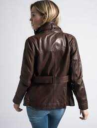 women s brown leather jacket barney s originals shr 11 9 shr 11 12