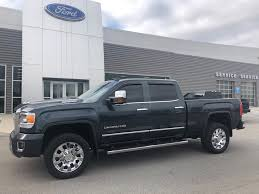 Used 2017 GMC Sierra 2500HD Truck Crew Cab Gray For Sale in ...