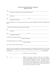 Personal Car Sale Agreement Purchase And Sale Agreement Template Used Car Sale Agreement
