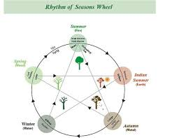 Chinese Medicine Five Elements Chart Chinese Medicines Rhythm Of The Seasons Diagram Chinese