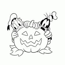 Leuk Voor Kids Halloween Met Donald En Goofy Kerst Kleurplaten