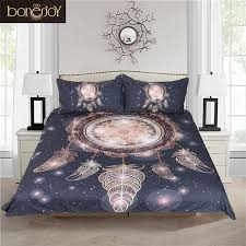 bed cover sets. Beautiful Cover Bonenjoy Dream Catcher Bedding Galaxy Duvet Cover Sets Black And White Bed  Queen Size In C