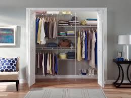 reach in closet organizers do it yourself. Reach-in Closet Utilizing ClosetMaid\u0027s Fixed Mount Wire Shelving. Reach In Organizers Do It Yourself