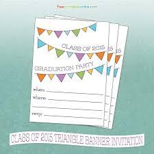 Enchanting Free Printable Graduation Party Invitations Ideas As An