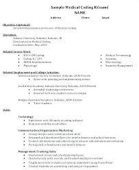 Medical Resume Format Medical Coder Resume Medical Coding Resume ...