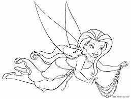 Small Picture Disney Fairy Fawn With Butterfly Coloring Pages Cartoon