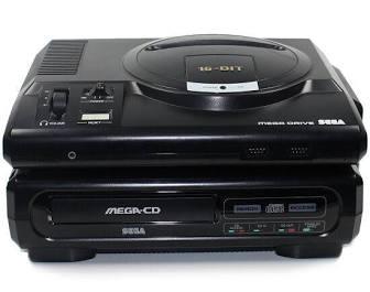 Sega Mega cd console