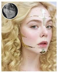 the neon demon makeup artist on elle fing s hauntingly beautiful looks