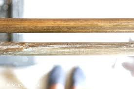 wooden curtain rods wood with a restoration hardware look for fraction rod brackets nz wooden curtain rods
