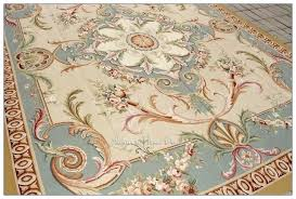 aubusson area rugs pastel blue ivory pink area rug carpet free ship french shabby rose chic aubusson area rugs