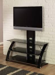 Tv Stands For Lcd Tvs Furniture Black Metal Tv Stands With Mounts And Black Glass