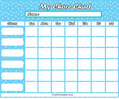 Chore Chart Editable Template Chores List Maker Lamasa Jasonkellyphoto Co