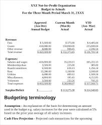 Sample Budget For Non Profit Organization 8 Non Profit Budget Templates Word Pdf Excel Apple