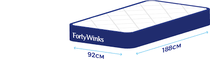 Image Super King Size Chart Forty Winks Bed Size Guide Help Faqs Forty Winks