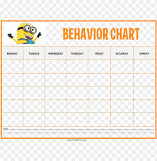 Free Printable Reading Incentive Charts Free Minions Behaviour Chart Templates At With Behavior