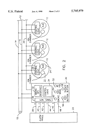 patent us5705979 smoke detector alarm panel interface unit siemens cerberus fc901 manual at Siemens Fire Alarm Wiring Diagrams