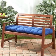 navy blue bench. Blue Outdoor Bench Home Fashions Marine Cushion X Garden . Navy