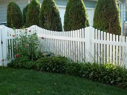 vinyl picket fence front yard. 18 Inch Vinyl Picket Fence Front Yard