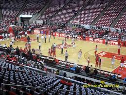 Nc State Seating Chart Pnc Arena Section 116 Nc State Basketball Rateyourseats Com