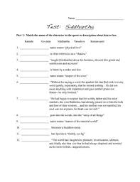 test for siddhartha by hermann hesse by english love tpt test for siddhartha by hermann hesse