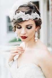 20 elegant art deco bridal hair makeup ideas