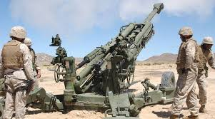 Marine Artilery Us Marines Deploy Artillery Guns In Syria World News The Indian