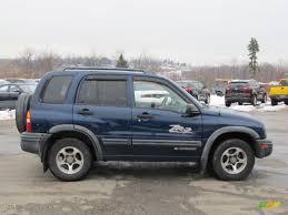 Indigo Blue 2004 Chevrolet Tracker ZR2 4WD Exterior Photo ...